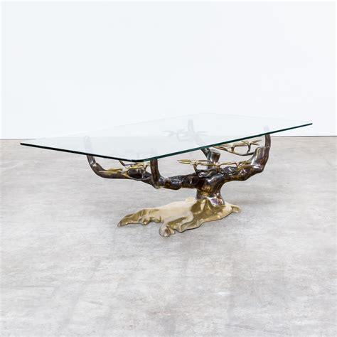 bonsai coffee table 70s willy daro bonsai sculptural coffee table barbmama