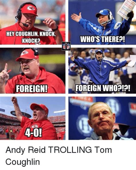 Andy Reid Meme - funny tom coughlin memes of 2017 on me me head coach