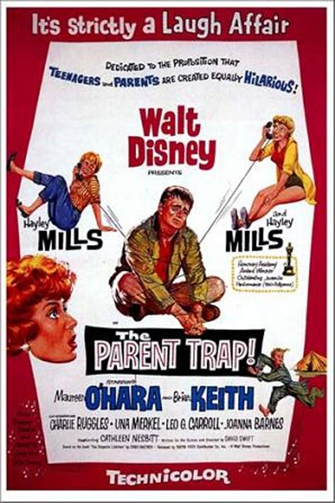 biography movie walt disney the parent trap 1961 film wikipedia