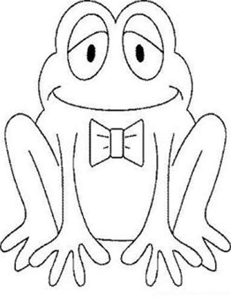 frog coloring page for preschool coloring pages february 2011