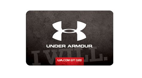 Under Armour Online Gift Card - 100 under armour gift card only 85 40 off ua outlet