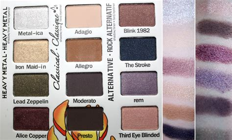The Balm Balm Jovi Palette misfit makeup the balm jovi rockstar palette review what to get at