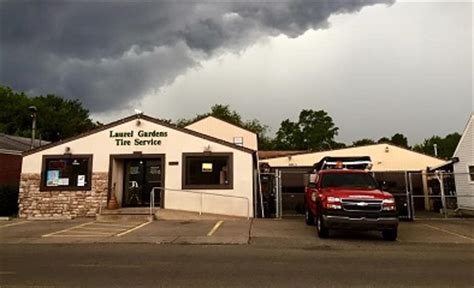 contact laurel gardens tire service  tire services shop  pittsburgh pa