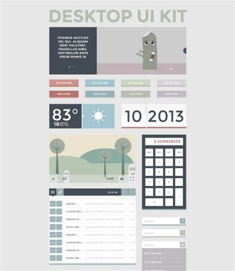 ddo ui layout save 51 best free photoshop psd ui kits for design awesomeness