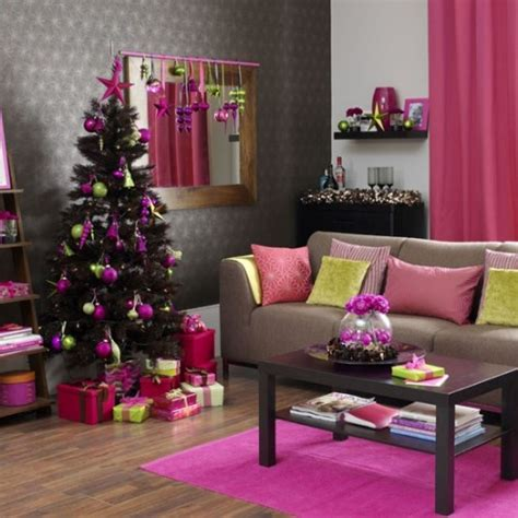interesting color combinations brave unusal and creative christmas home decoration ideas