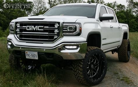 lifted white gmc white gmc sierra lifted www pixshark com images