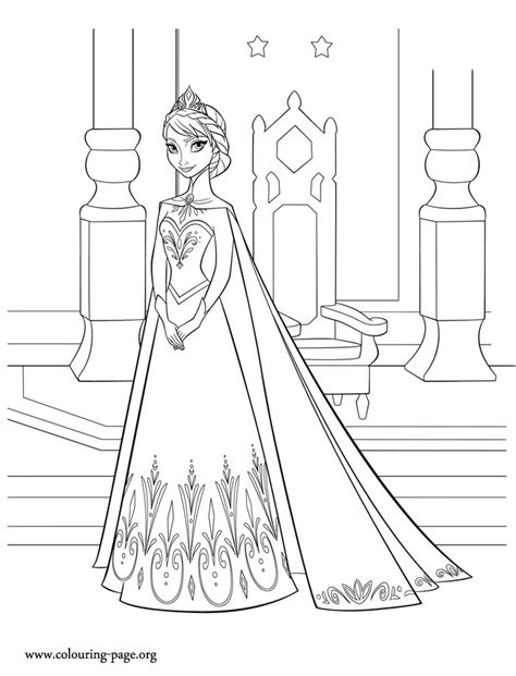 arendelle castle coloring page 101 best images about frozen elsa princess cut out on
