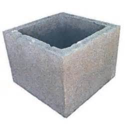 el 233 ment de pilier b 233 ton gris 40x40cm ht 20cm achat