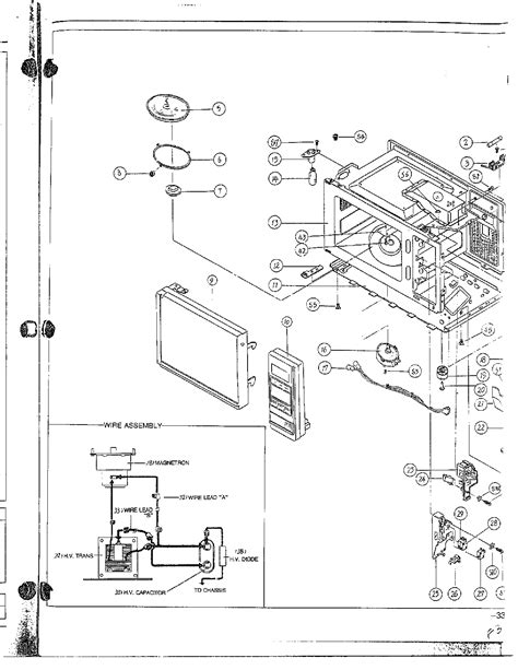 samsung microwave parts diagram samsung microwave parts diagram bestmicrowave