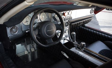 Spyker C8 Aileron Interior by 2010 Spyker C8 Aileron Interior Photo