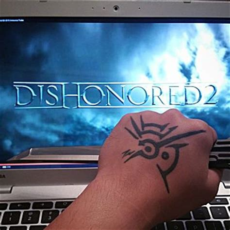 dishonored tattoo the 10 best bethesda tattoos