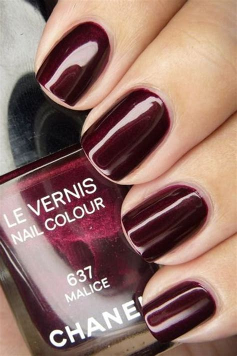 burgundy nail polish colors 25 photos of burgundy nail designs for a very chic winter