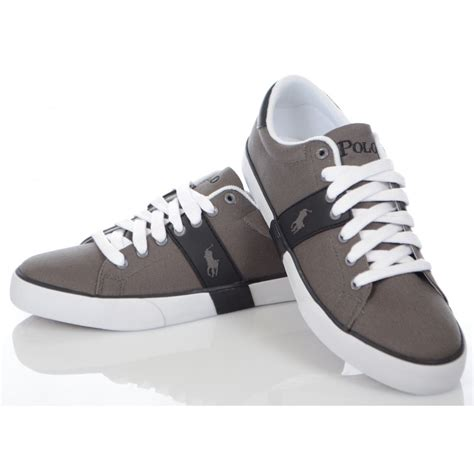 ralph shoes ralph shoes burwood trainer in grey ralph