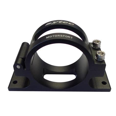 sytec motorsport fuel pump filter bracket  merlin motorsport