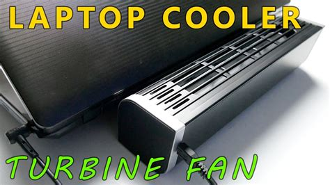 Blower Fan Laptop powerful and compact laptop cooler turbine fan