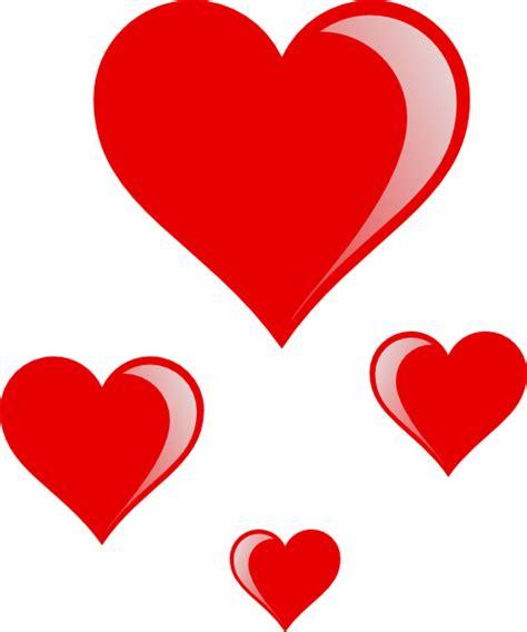 printable clip art hearts heart cluster clip art at clker com vector clip art