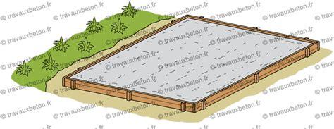 Comment Faire Une Terrasse Beton 4670 by Comment Faire Une Dalle B 233 Ton Pour Terrasse