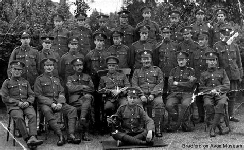 Armchair Group Old Photographs Military Amp Wartime Bradford On Avon Museum