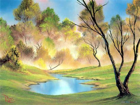 bob ross paintings hd bob ross paintings bob ross paintings landscape