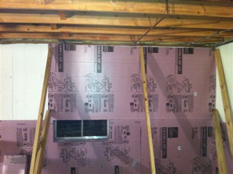 rigid foam insulation for basement walls installing rigid foam insulation for your basement