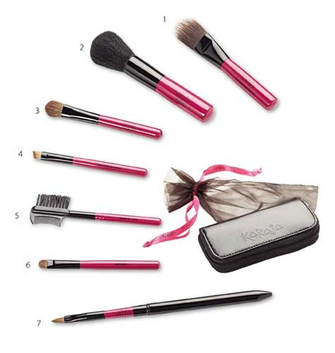Mini Brushes Set by Mini Brush Set Karaja