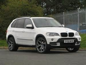Used Bmw X5 Used Bmw X5 2009 White Colour Diesel Xdrive30d Se 5 Door