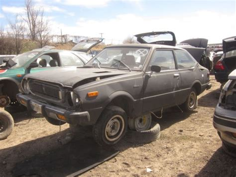 Toyota Junk Yards Junkyard Find 1975 Toyota Corolla The About Cars