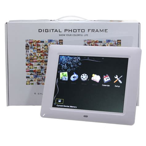 costo cornice digitale hd tft lcd digitale foto cornice mp3 mp4 telecomando