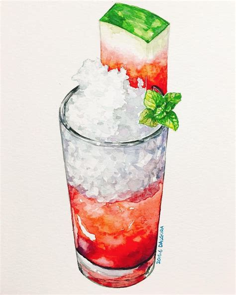 watercolor cocktail 25 beautiful watercolor painting ideas on pinterest art