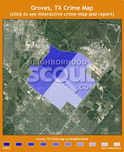 groves texas map groves 77619 crime rates and crime statistics neighborhoodscout