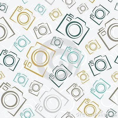 photo camera icon powerpoint template backgrounds 14347 seamless photo cameras pattern royalty free stock