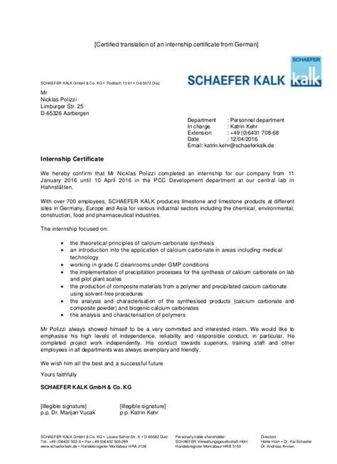Zeugnis Reference Letter Switzerland en arbeitszeugnis schaefer kalk