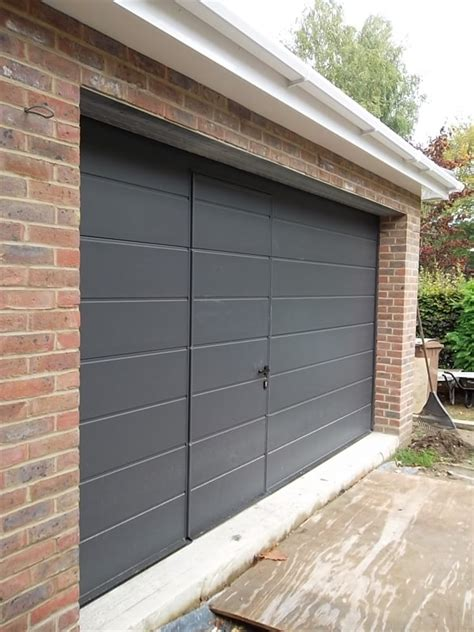 Hormann Sectional Garage Doors Reviews by Hormann Sectional Door With Wicket Door Fitted In