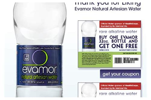 coupons bottled water