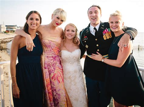 gifts for taylor swift fans taylor swift surprises fan at his wedding people com
