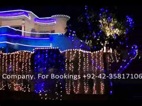 Wedding House And Concept by House Light Mehndi Lights Concepts Disco Lights