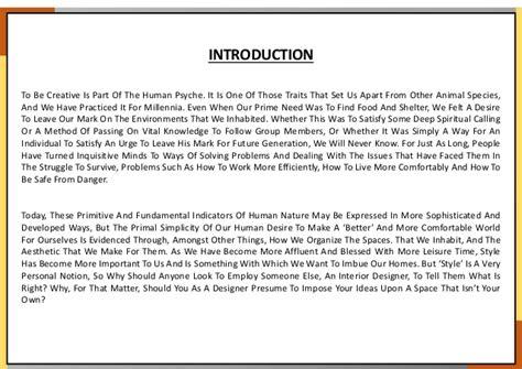 interior design introduction kritika heda b sc interior design residential design