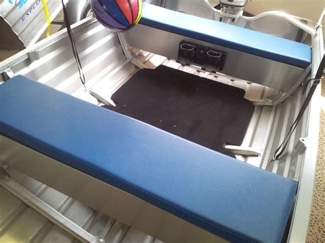 boat cushions sydney seat cushion s blue only to suit bench seats from 1 4m