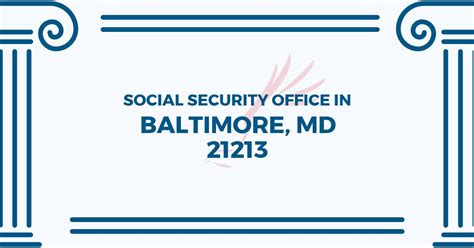 Locate Social Security Office Near Me by Social Security Office In Baltimore Maryland 21213 Get