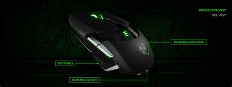 Mouse Razer Terbaru ouroboros mouse gaming terbaru razer yang canggih nan elegan