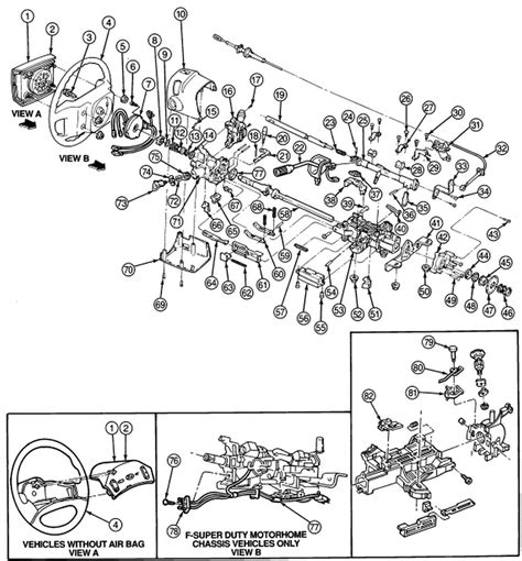 1995 ford f150 parts diagram 1995 ford f150 has intermittent starting problem replaced
