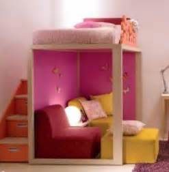lift the bed off the floor to create a spacious abode