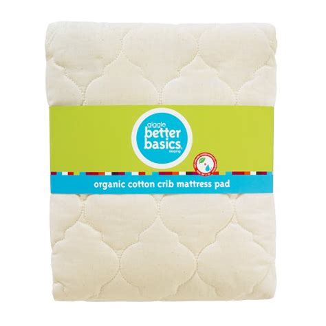 Giggle Crib Mattress Giggle Better Basics Waterproof Crib Mattress Pad Organic Buy Ineedmoneyireland93