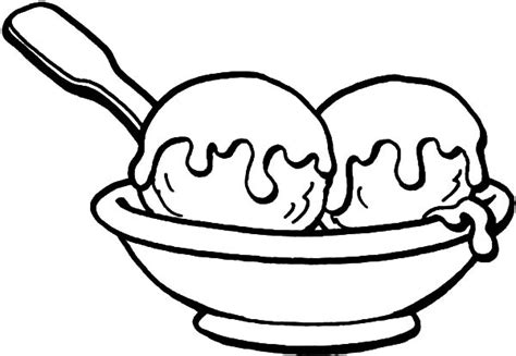 ice cream bowl coloring page drawing a bowl of ice cream coloring pages bulk color