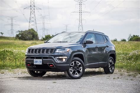 jeep compass trailhawk 2017 black review 2017 jeep compass trailhawk canadian auto review
