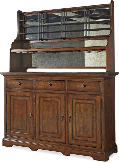 Paula Deen By Universal Dogwood Credenza With Wine Bottle