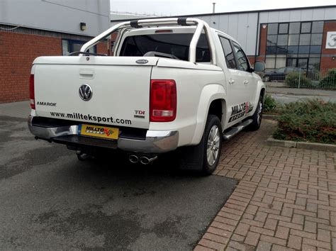 volkswagen amarok custom vw amarok 2 0 bitdi with performance exhaust system