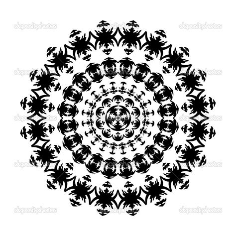 16 ornaments frame vector black and white images vector