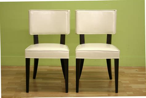 bonded leather dining chairs chair pads cushions