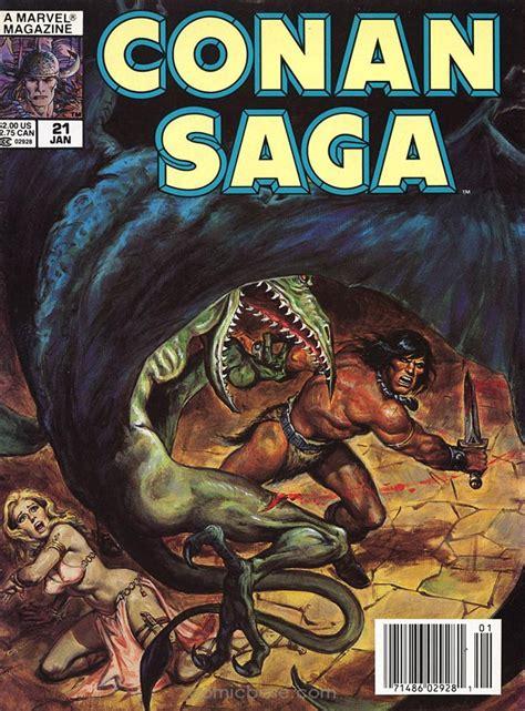 saga vol 1 conan saga vol 1 21 marvel database fandom powered by